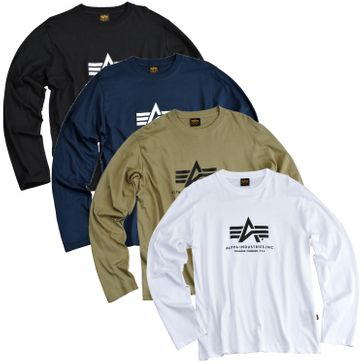 Alpha Industries Longsleeve Basic T - LS 001