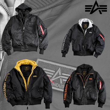 Alpha Industries Jacke MA-1 D-Tec SE 001