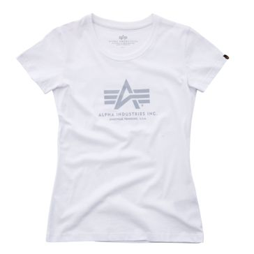 Alpha Industries Damen T-Shirt Logo T Wmn 001