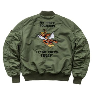 Alpha Industries Jacke MA-1 VF Flying Tigers 003
