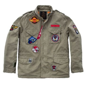 Alpha Industries Jacke Vintage M-65 CW Patch 003