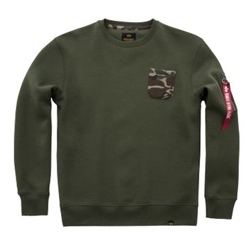 Alpha Industries Sweater Camo Pocket 004