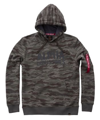Alpha Industries Hoody Camo Print 002