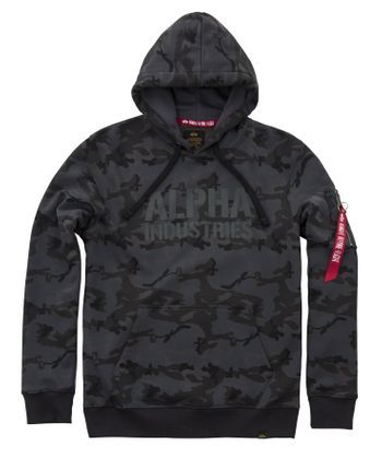 Alpha Industries Hoody Camo Print 003