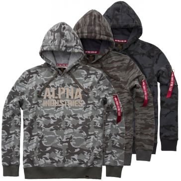 Alpha Industries Hoody Camo Print 001