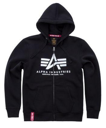 Alpha Industries Zip Hoody Basic 002