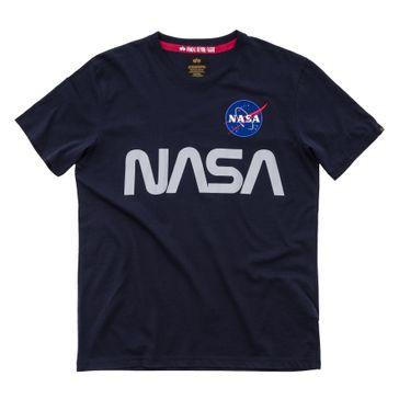 Alpha Industries T-Shirt NASA Reflective T 002