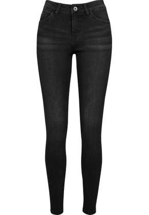 Urban Classics Damen Jeans Skinny Denim 006