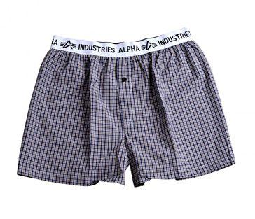 Alpha Industries Bodywear Boxer Checked 002