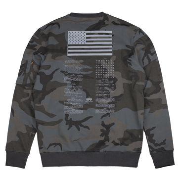 Alpha Industries Sweater Blood Chit Print 003