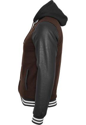 Urban Classics Hooded Oldschool College Jacket 005