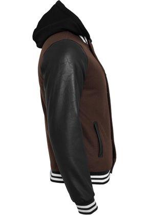 Urban Classics Hooded Oldschool College Jacket 007