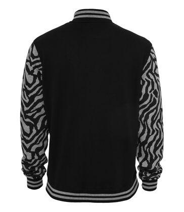 Urban Classics 2-tone Zebra College Jacket 002