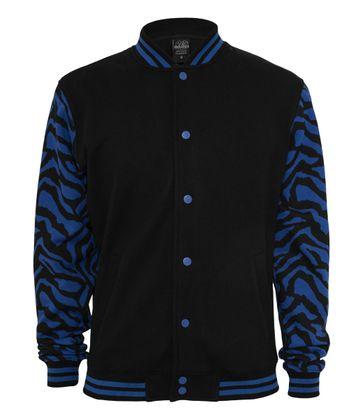 Urban Classics 2-tone Zebra College Jacket 007