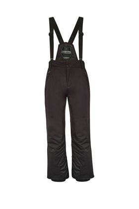 Men/'s KILLTEC Gauror Insulated Ski Pants BLACK w// Removable Bib Suspenders NEW