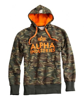 Alpha Industries Hoody Foam Print 004