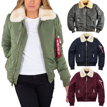 Alpha Industries Damen Jacke Injector III Wmn 001