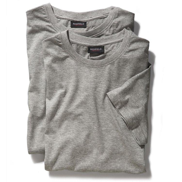 T-Shirts Übergrößen, grau