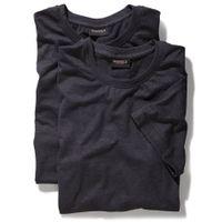 Redfield T-Shirts im 2er Pack - anthrazit 001