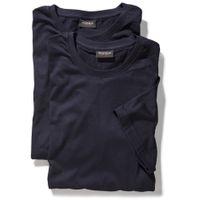 Redfield T-Shirts im 2er Pack - dunkelblau 001