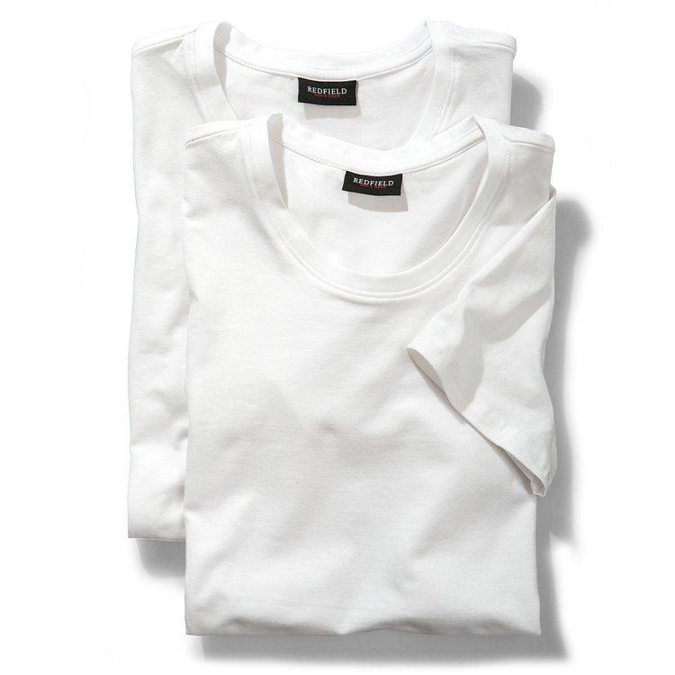 T-Shirts in Übergrößen, weiß