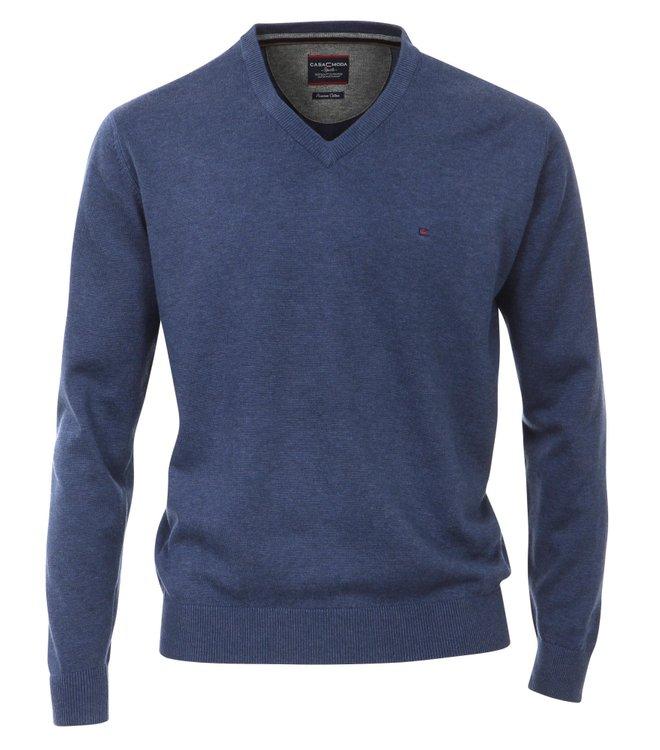 Casa Moda Pullover extra langer Arm - blau