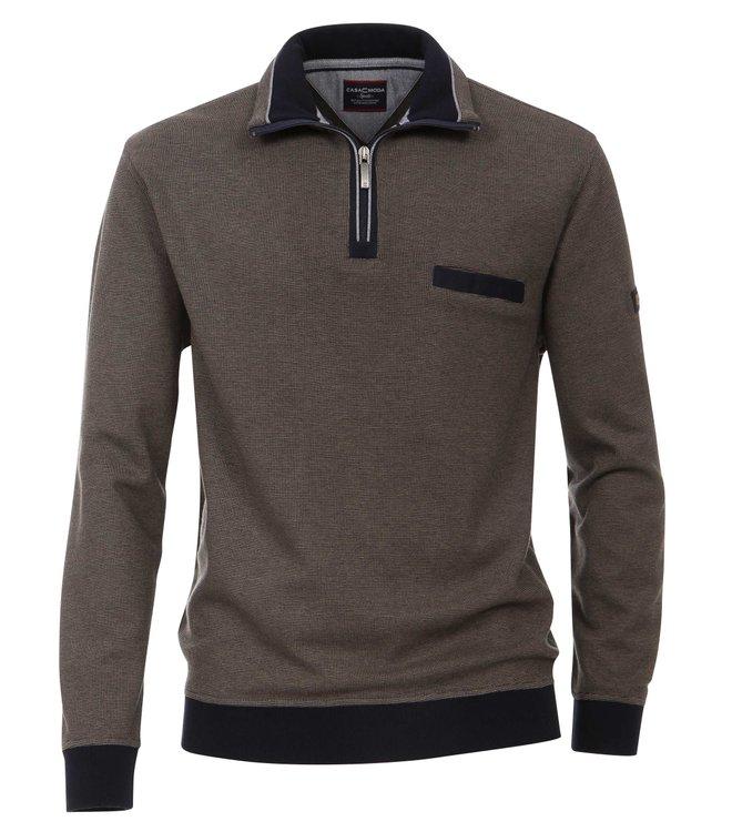 Braunes Casa Moda Sweatshirt