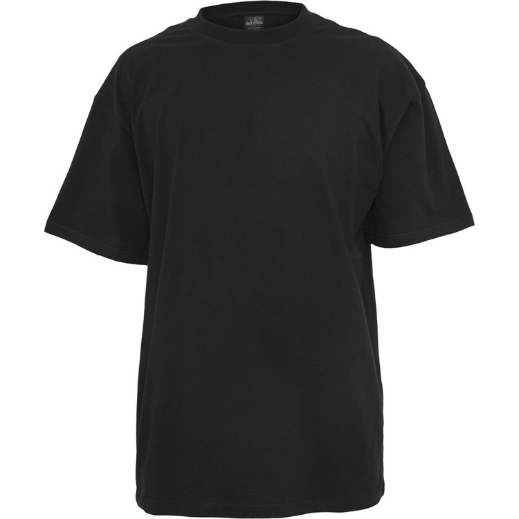 T-Shirts extra lang, schwarz