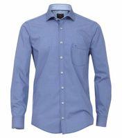 Casa Moda Freizeithemd - blau gemustert 001