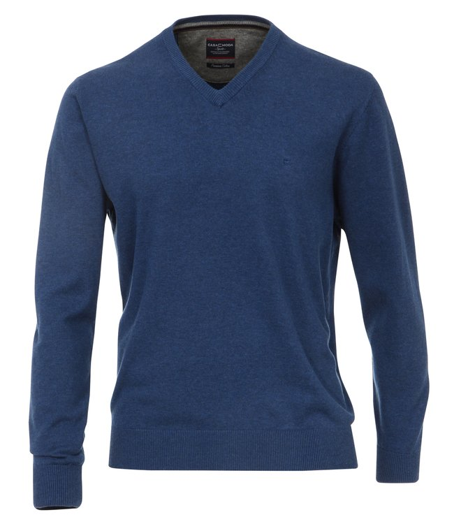 Pullover Extra Lange Ärmel Blau