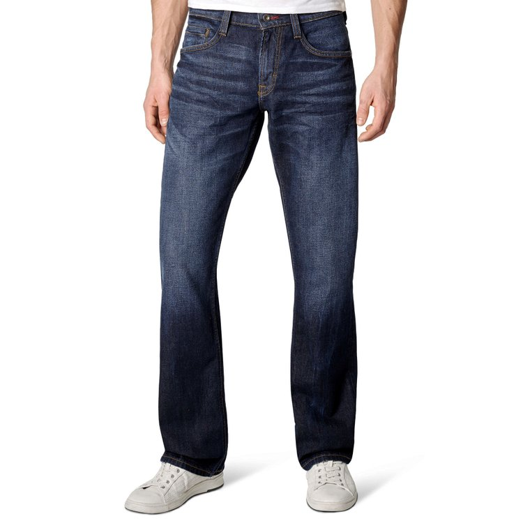 Bootcut Jeans Extra Lang Blau