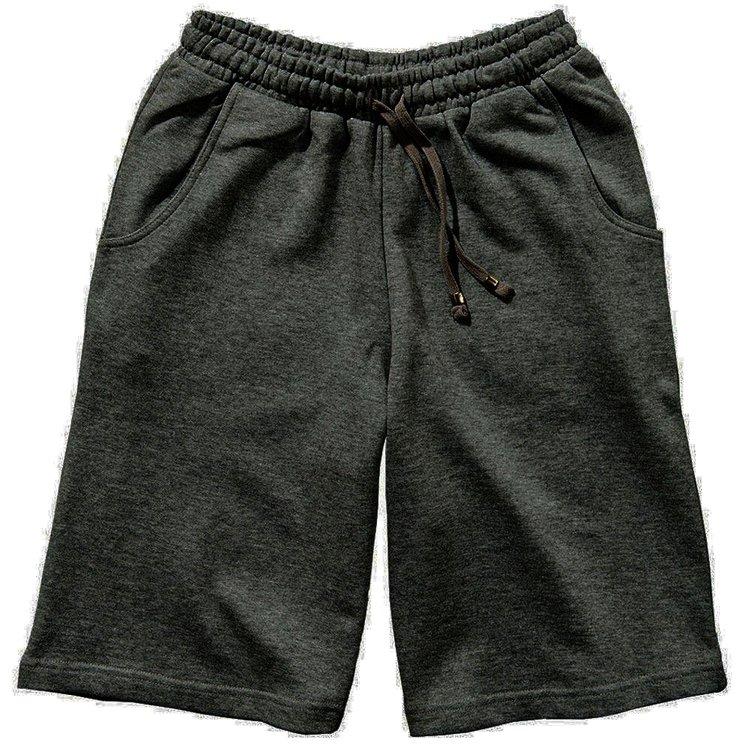 Redfield Sweat-Shorts in Übergröße - anthrazit