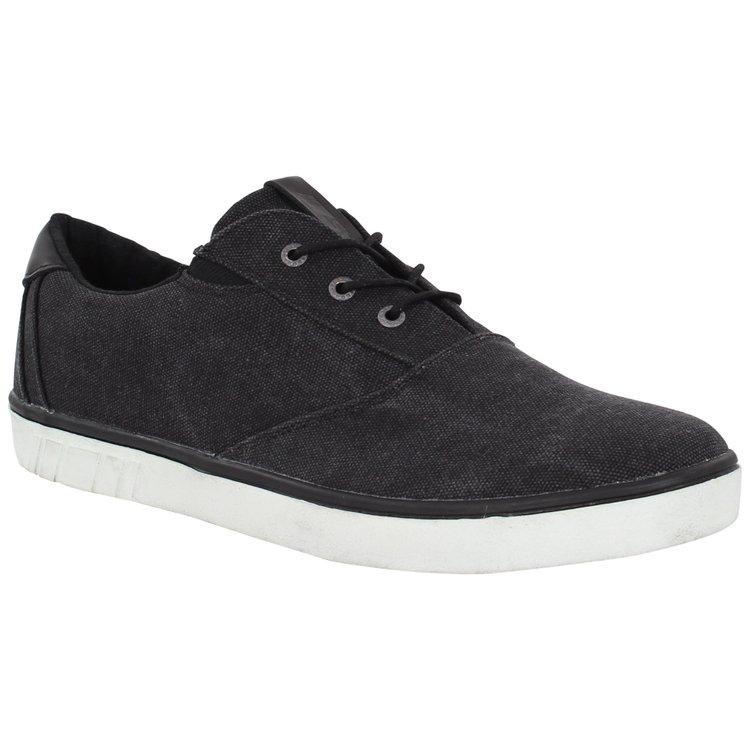 Herren-Sneaker in Übergröße in schwarz