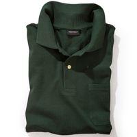 Redfield Poloshirt in Übergröße - dunkelgrün 001