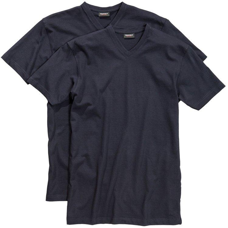 Herren T-Shirts Übergrößen, dunkelblau