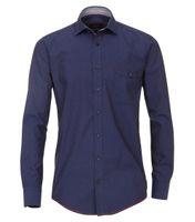 Casa Moda Freizeithemd - blau bedruckt 001
