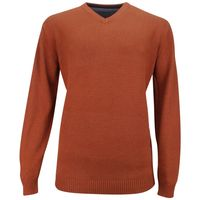 Kitaro Pullover Extra Lang Rost 001