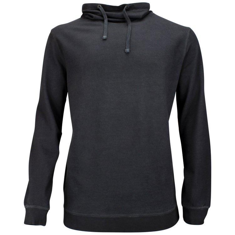Sweatshirt mit Schalkragen in Übergröße