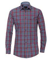 Casa Moda Hemd in Übergröße - rot/blau kariert 001