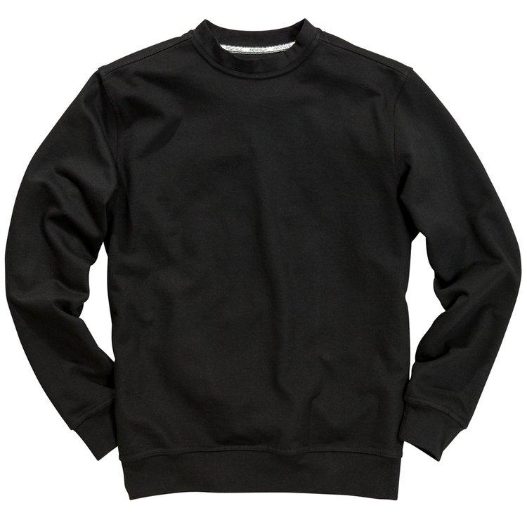 Schwarzes Redfield Sweatshirt in Übergröße