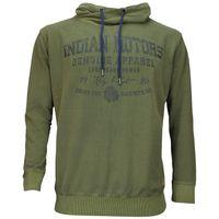 Redfield Vintage Sweatshirt mit Schalkragen - oliv grün 001