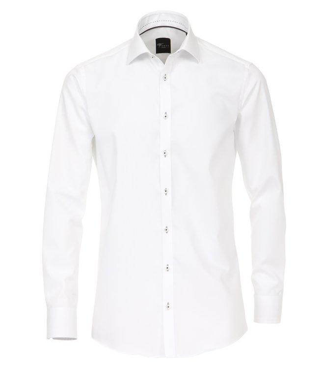 Herrenhemd extra lang in weiß von Venti