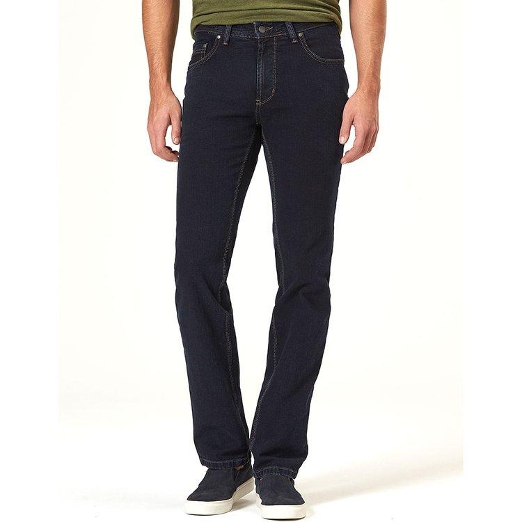 Herren Jeans Überlänge, dunkelblau