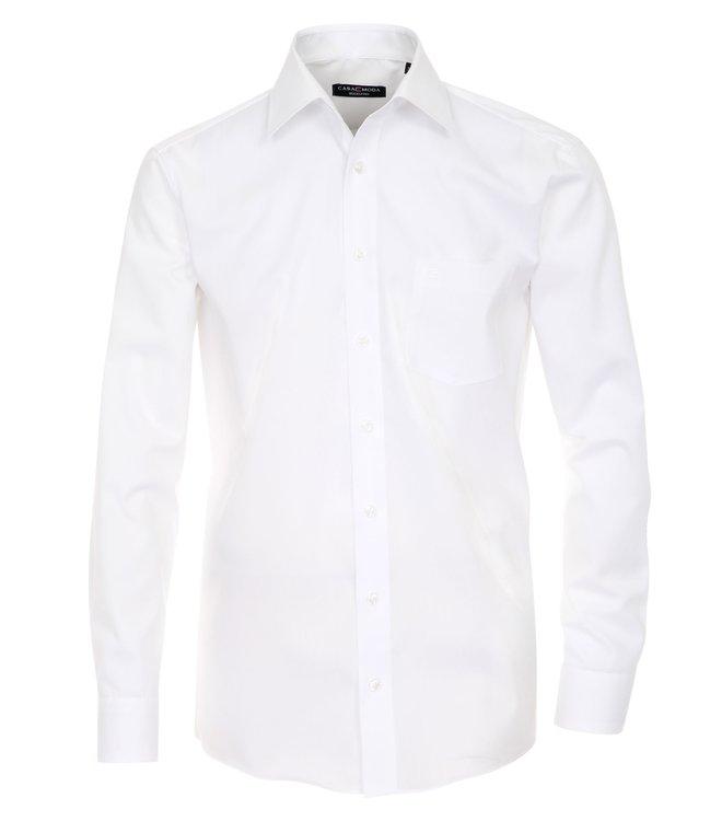 Casa Moda Hemd extra langer Arm, weiß