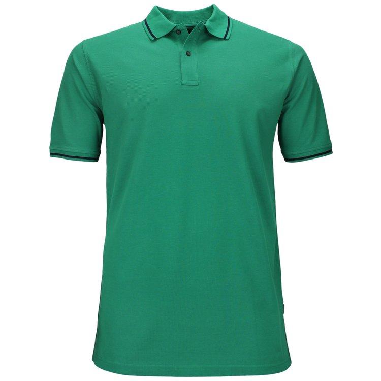 Poloshirt Übergröße, grün