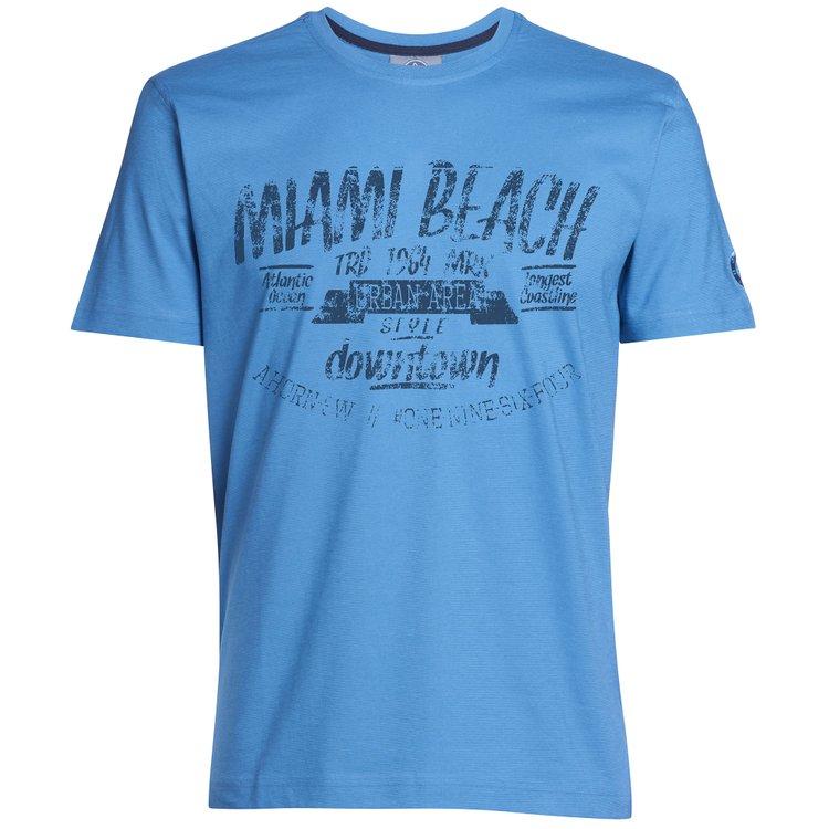 T-Shirt Übergrößen, blau