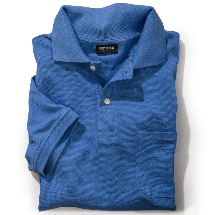Übergrößen Poloshirt, azurblau