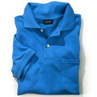 Redfield Poloshirt in großen Größen - malibu blau 001