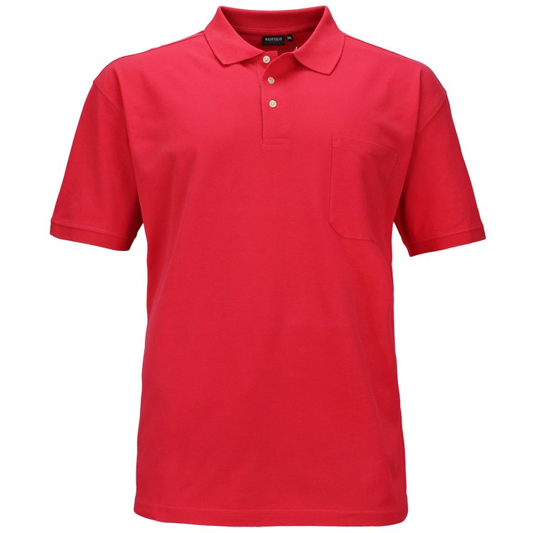 XXL Herren Poloshirt, light strawberry