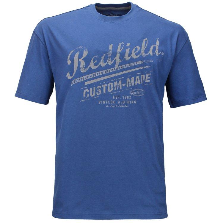 Redfield T-Shirt Übergrößen, blau